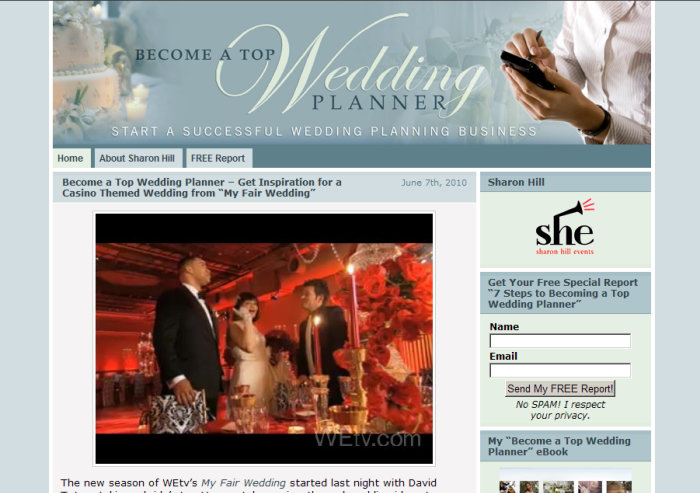 Become a Top Wedding Planner