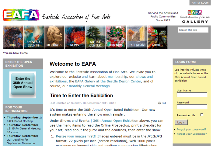 Eastside Association of Fine Arts
