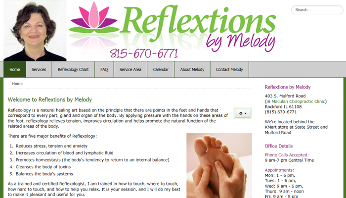 Reflextions by Melody
