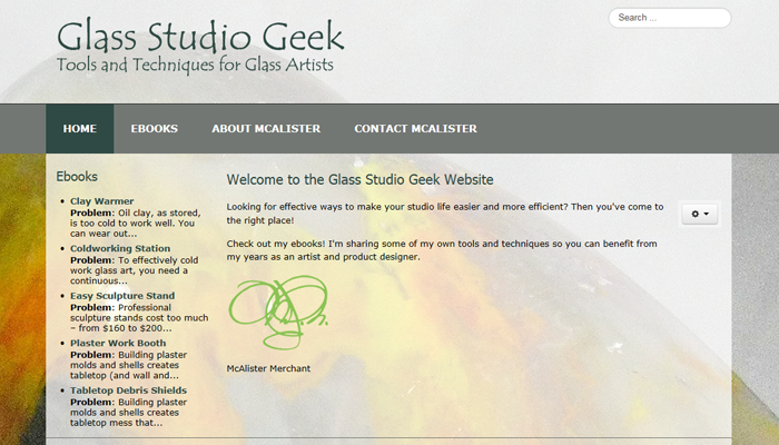 Glass Studio Geek